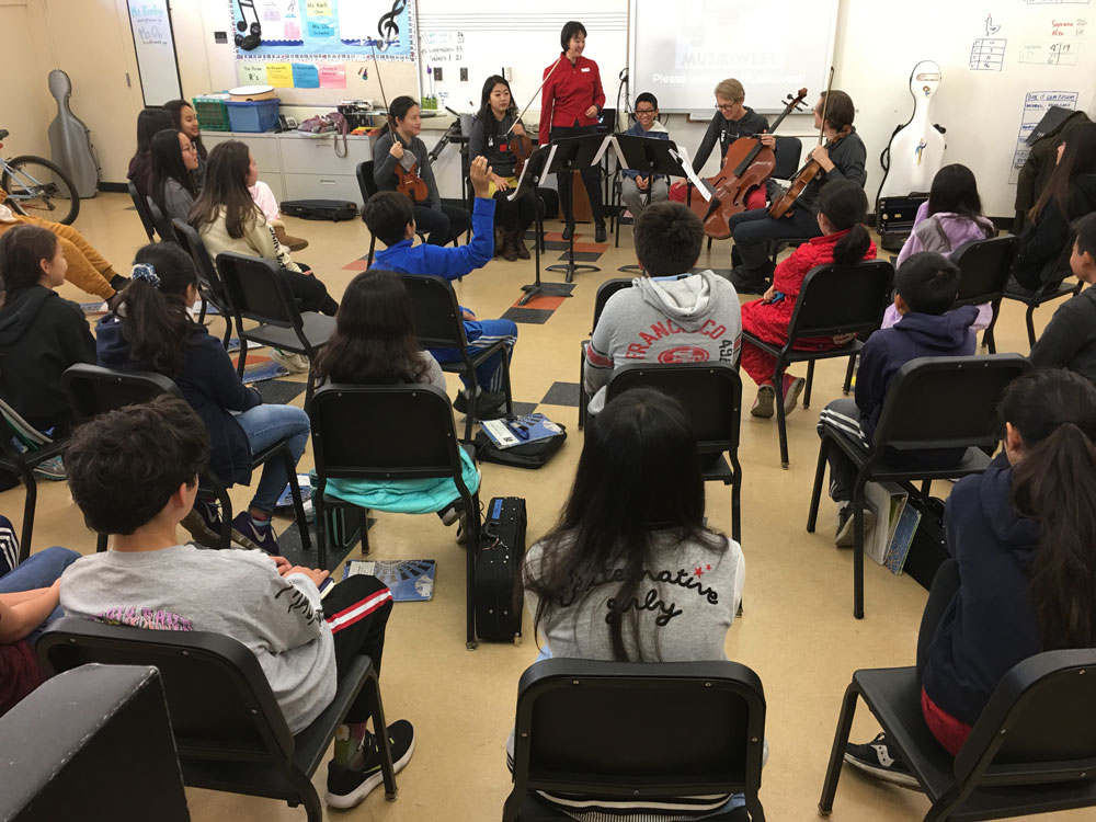 Musikiwest At The Palo Alto Unified School District