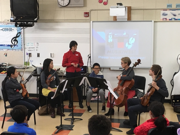 Chamber Musicians Strike A Chord With Students Musikiwest Music
