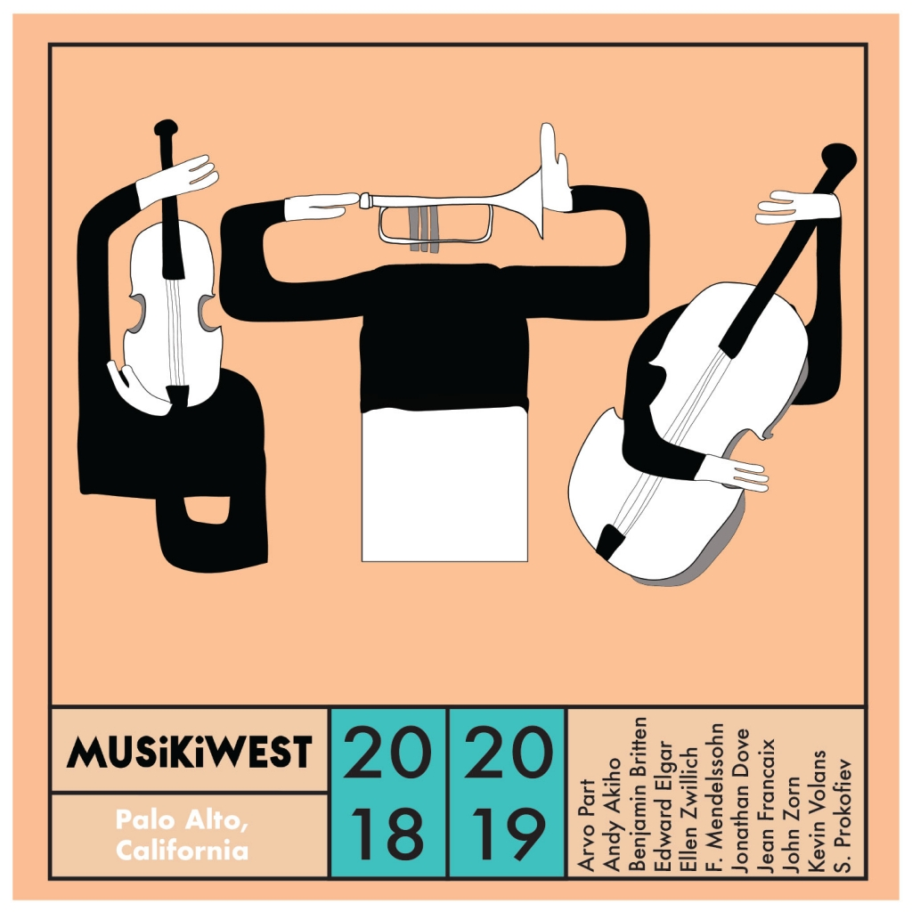 Musikiwest 2018-19 season cover